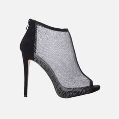 You're looking at a must-have heel silhouette for the spring/summer season, to wear with your rolled-up jeans or a cocktail dress. It features an all-mesh covering with a back zip closure. Wedge Heels, High Heels, Perfect Definition, Rolled Up Jeans, Guilty Pleasure, Me Too Shoes, Must Haves, I Am Awesome, Peep Toe