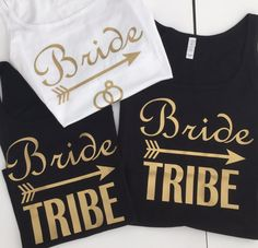 Bride & Bride Tribe Women's Hen Party / Bridal Party / Bachelorette Vest Tops. JRCustomWear ETSY #henparty #hendo #henweekend #hennight #henpartyweekend #hendoweekend #henpartyfun #henorstaghour #henhour #henpartyideas #hendoideas #bridetobe #bride #maidofhonour #bridesmaids #chiefbridesmaid #bridesmaid
