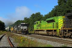 RailPictures.Net Photo: NS 1072 Norfolk Southern EMD SD70ACe at Oneonta, New York by John Sesonske