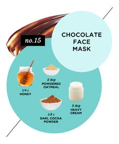 Skin-Reviving Chocolate Face Mask, 15 Homemade Face Masks That Will Make You Glow - (Page 15)