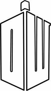 how to draw the doctor who logo step 6