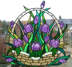 gallery glass tulips - Google Search