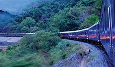 Deccan odyssey- palace on wheels, India