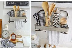 Vintage Towel Rack | Bathroom Towel Racks | Kitchen Towel Rack