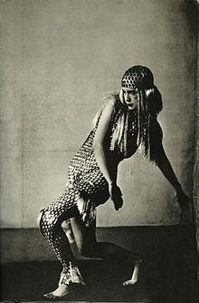 Lucia Joyce dancing at Bullier Ball, Paris, May 1929.