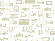Awesome collection of Free Game Patterns for Retro and Vintage, which will be perfect for your website, magazine, poster,flyer and much more design for free Free Games, Pattern Design, Diagram, Ink, Retro, Minecraft, Projects, Nintendo, Gaming