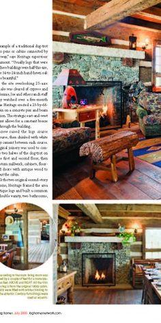 Ohio Dogtrot Cabin - Heritage Restorations