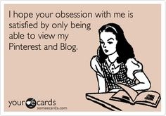 """Haha this goes out to the PSYCO ex girlfriends out there. Switch out """"blog"""" and insert all social media."""