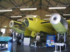 W4050 being restored at the de Havilland Aircraft Heritage Centre near St Albans.