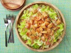 Buffalo Chicken Salad Recipe Rachael Ray Food Network, Layered Buffalo Chicken Salad The Girl Who Ate Everything, Buffalo Chicke. Giada De Laurentiis, Food Network Recipes, Cooking Recipes, Healthy Recipes, Cooking Food, Easy Recipes, Healthy Salads, Polenta, Restaurant Recipes
