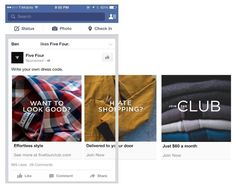 Five Four Carousel Ad - Facebook Carousel Ad Creative Best Practices