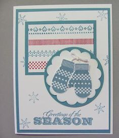 Make a Mitten stamp set, Holiday Catalog by starzlmom28 - Cards and Paper Crafts at Splitcoaststampers