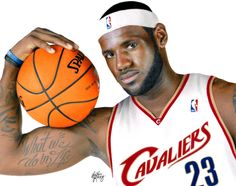 Drawing LeBron James by Heather Rooney