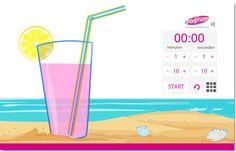 EduTip: Geef morgen de kinderen een extra glaasje timer-drinken of een timer-ijsje: http://www.schoolbordportaal.nl/data/timer%20time/menu.html #digibord #onderwijs