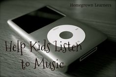 Help Kids Listen to Music with a free printable listening guide for SQUILT -- super quiet uninterrupted listening time.