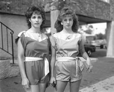 vintage everyday: The Glory of Staten Island – 44 Photographs That Show What New York City's 'Forgotten Borough' Looked Like in The Early Trip The Light Fantastic, Girls Together, T Magazine, Retro Waves, Retro Look, Retro Style, Staten Island, Female Photographers, Fresh Face