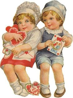Vintage Valentines Day Images | Wordless Wednesday