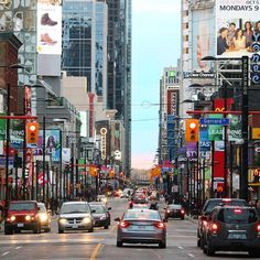 Gerrard and Yonge, Toronto, Ph. by Michael deCorte Visit Toronto, Toronto Ontario Canada, Toronto Travel, Toronto Life, Travel Around The World, Around The Worlds, World Street, Newfoundland And Labrador, University Of Toronto