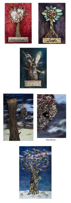 Jenny Honnert Abell - Surrealist collage painter