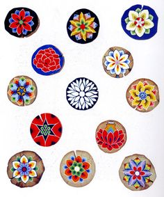 Flower Pot Art, Flower Pots, Flowers, Dunhuang, Traditional Paintings, Glyphs, Flower Patterns, Art For Kids, Oriental