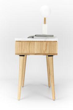 Oak Table Marble top on Behance