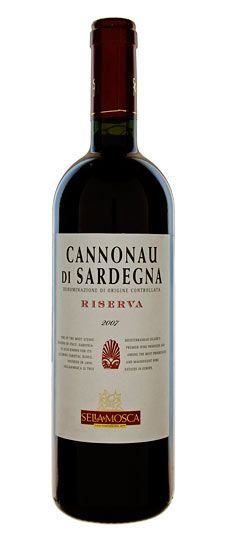 2007 Sella e Mosca Cannonau di Sardegna Riserva. The label is different, but the wine is the best in Sardegna and my standby when I lived there. Hard to come by in the States, but I have seen it in a few places.