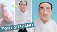 Polymer Clay Sculptures, Polymer Clay Art, Dexter Seasons, Tony Soprano, Illustration Art, Color, Colour, Colors