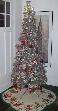 227 Best Aluminum Christmas Trees Images In 2019 Old Fashioned