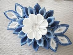 Hey, I found this really awesome Etsy listing at https://www.etsy.com/listing/183653973/handmade-kanzashi-fabric-flower
