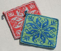 TPHPE by Heather Zoppetti.  Free pattern for a small double knit project - a good way to teach myself how to do it.