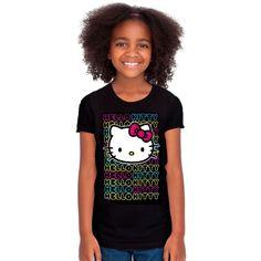 Child Neon Hello Kitty T-Shirt