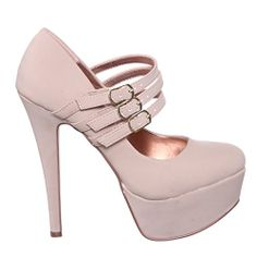 Classic Round Toe High Heel (5.5, nudnub) [Apparel] shoewhatever http://www.amazon.com/dp/B00KTVZY3S/ref=cm_sw_r_pi_dp_ZwTKtb0CTJHZN9WZ