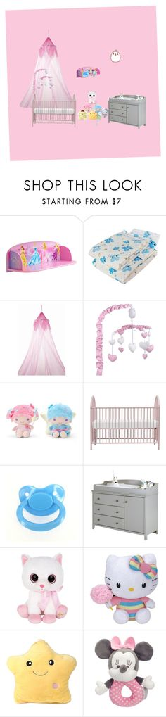 """""""My dream nursery"""" by kawaiiprincess24 ❤ liked on Polyvore featuring interior, interiors, interior design, home, home decor, interior decorating, Disney, Living Textiles, South Shore and Harrods"""