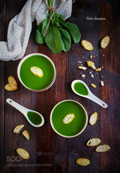 Arugula Soup by aishaalmedane #food #yummy #foodie #delicious #photooftheday #amazing #picoftheday