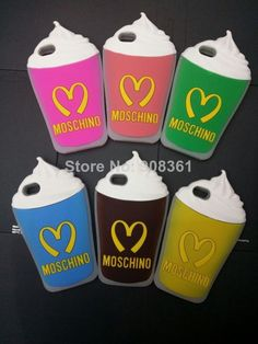Free Shipping 10 pcs/lot 2014 Moschino McDonald Ice Cream Silicone soft cell phone cases for iphone 5 cases $48.99. http://www.aliexpress.com/store/908361