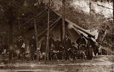 Grant in camp at Cold Harbor