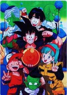 Scan from Dragon Ball Shitajiki (1992)Published by Animetopia / Fuji TV / Toei Animation / Shueisha / Studio Bird / AkiraToriyamasource : personal collection