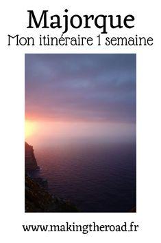 Voici que faire et que voir en une semaine en voyage à Majorque. Découvrez mes conseils de vacances sur cette île avec des paysages somptueux en Espagne, sur mon blog de voyages. #majorque #espagne #voyage #île Road Trip, Destinations, Voyage Europe, Destination Voyage, Blog Voyage, Voici, Airplane View, Travel Inspiration, Desktop Screenshot