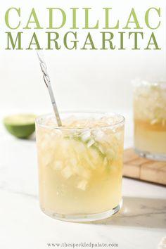 Grand Marnier Margarita, Margarita Recipe Cointreau, Cadillac Margarita Recipe, Classic Margarita Recipe, Margarita Recipes, Top Shelf Margarita, Espolon Tequila, Best Tequila, Silver Tequila