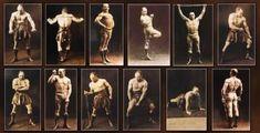 «Динозавры» тяжелой атлетики (9 фото + буквы)
