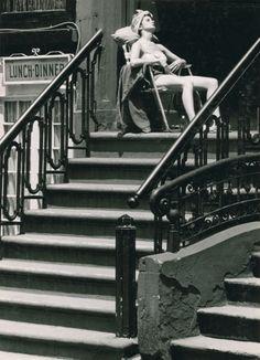 "Ronald Reis, Greenwich Village, New York City, 1963. ""kvetchlandia"""