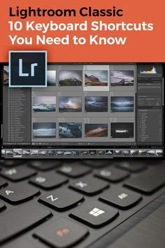 Adobe Lightroom Classic is filled with tons of shortcuts and I have put together my 10 essential Lightroom keyboard shortcuts you need to know to drastically speed up your editing workflow. Photography Sketchbook, Landscape Photography Tips, Photography Tips For Beginners, Photography Editing, Travel Photography, Digital Photography, Best Photo Editing Software, Editing Photos, Photoshop Keyboard