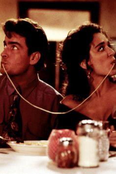 Hot Shots, 1991  Charlie Sheen and Valeria Golino