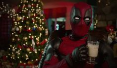 """WATCH: Deadpool Kicks Off Holiday Countdown to New Trailer - An eggnog-sipping """"Saint Wade"""" announces Days of Deadpool,"""" an advent calendar of sorts leading to the Dec. 25 debut of the new film trailer. Deadpool Movie, Deadpool Videos, Deadpool 2016, Dead Pool, Deadpool Gifts, Deadpool Christmas, Marvel Comics, Holiday Countdown, Special Forces"""