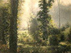 Oil painting Kiss Viktor