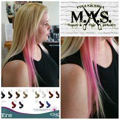 Probando nuestras #mascarillas con #color #ionic, 12 #colores e infinidad de mezclas.  @AppLetstag #pinkhair #pink #purplehair #hair #pastelhair #dyedhair #longhair #hairdye #pretty #scenehair #hairstyle #punk #fashion #coloredhair #pastel #blondehair #haircolor #love #blonde #redhair #girl #bluehair #colorfulhair #dontcare