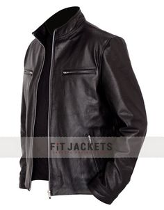 Vin Diesel Fast and Furious 7 Jacket in Black Leather for Mens in best Price at fitjackets Shop.  #VinDiesel #FastandFurious7 #WinterFashion #NewYear #Holiday #Cosplay #Celebrity#Shopping #Hot #Sexy #Stylish #LeatherOutfit #MovieJacket #Fashion #MensOutfit #MensFashion #clothing #Costume #Sale #StyleMens
