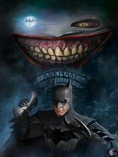Batman and Joker by Riccardo Rullo