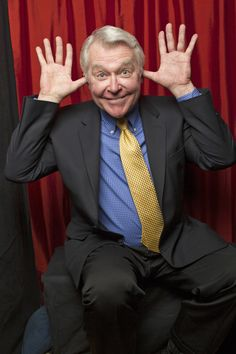 Jerry verDorn in the Booth  (Photo Courtesy of Victoria Will / TV Guide Magazine)