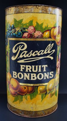 Tin Pascall Fruit Bonbons.